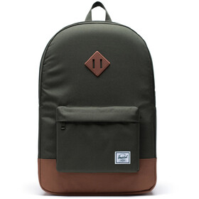 Herschel Heritage Backpack dark olive/saddle brown